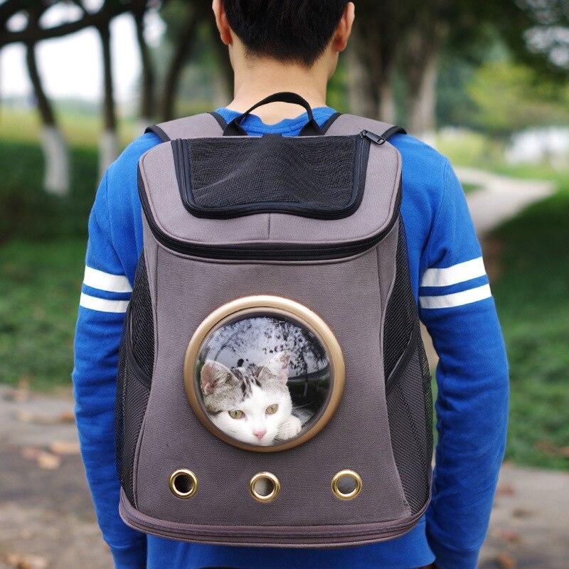 Модные Pet Carrier Путешествий пространство холст пространство Capsule собак Pet Carrier рюкзаки Спорт Путешествия Открытый Pet Puppy Cat сумка