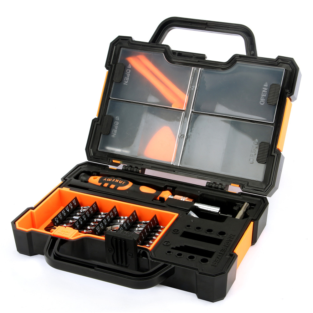 JAKEMY JM-8152 44 in1 Multifunctional Screwdriver Repair Tools Kit Set For iPhone Laptop Computer Hand Tool herramientas de mano jakemy 73in1 screwdriver set 180adjustable magnetic ratchet laptop computer household auto car mechanic repair tool kit jm 6113