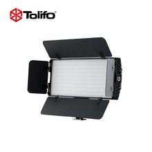 Tolifo PT-30B II Ультра Тонкий двухцветный Температура 2.4 г wirelesss Пульт дистанционного Управления светодиодный Камера свет с Шторки для DSLR