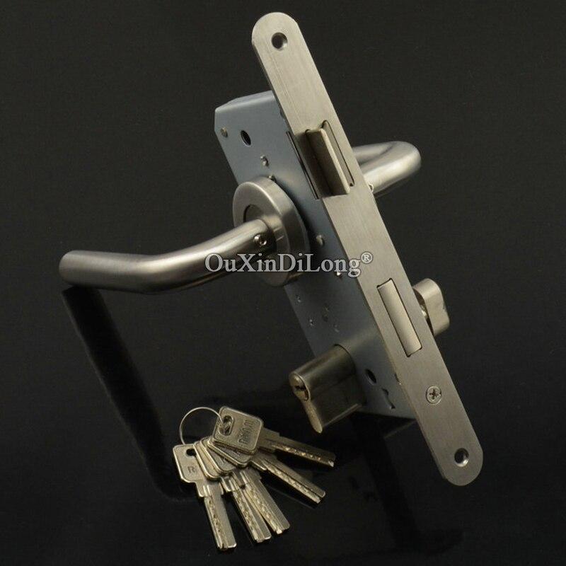 European Mortise Door Lock 5572 / 55*72 Lock Body Fire Proof Door Lock Set W Lock Cylinder,Keys & Handles