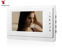 7 Inch Color TFT LCD Screen Monitor Wired Doorbell Door Video Phone Intercom For House Office
