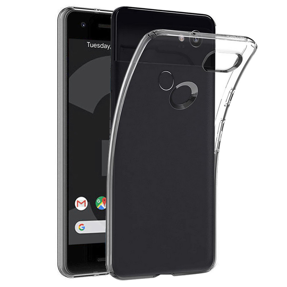 Ultra Thin Clear Soft TPU Cover Case For Google Pixel 3 5.5Inch #1030