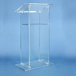 Free Shipping Acrylic church pulpit /innovative lectern /Shatterproof podium for church platform