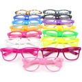 Armações de óculos de Lente Clara Óculos Quadrados Quadro das Mulheres Dos Homens Unisex Nerd Na Moda Nova L4