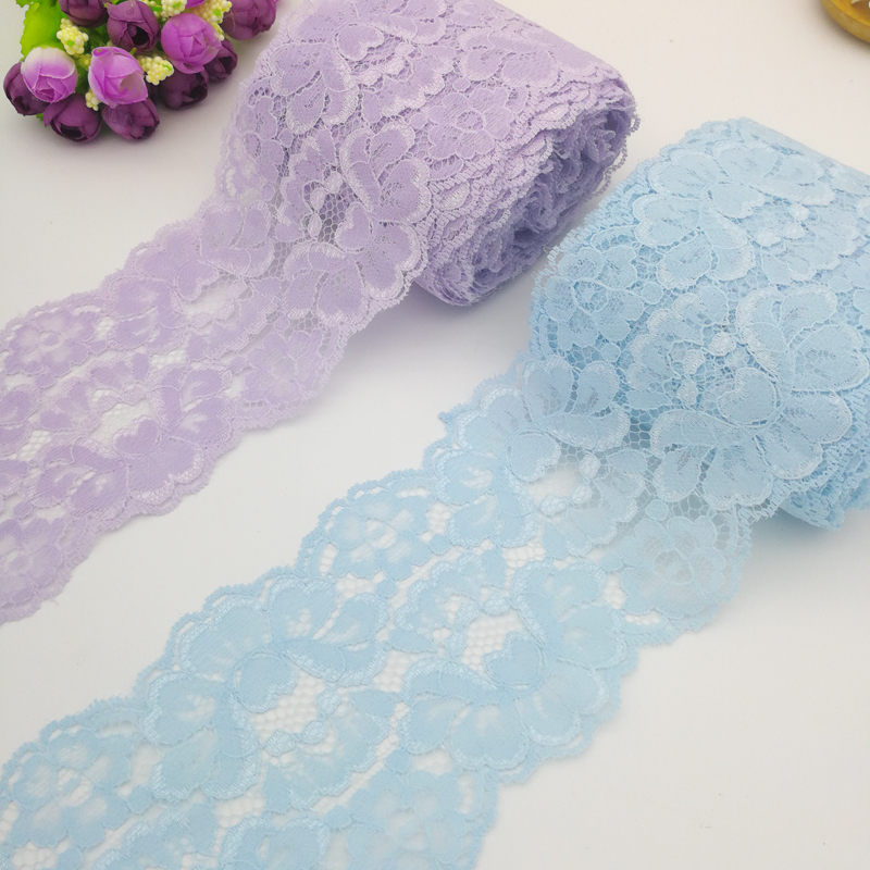 5Yardslot Polyester lace Ribbon Embroidered Net lace Trim for Sewing clothingScrapbookingwedding Party Decoration