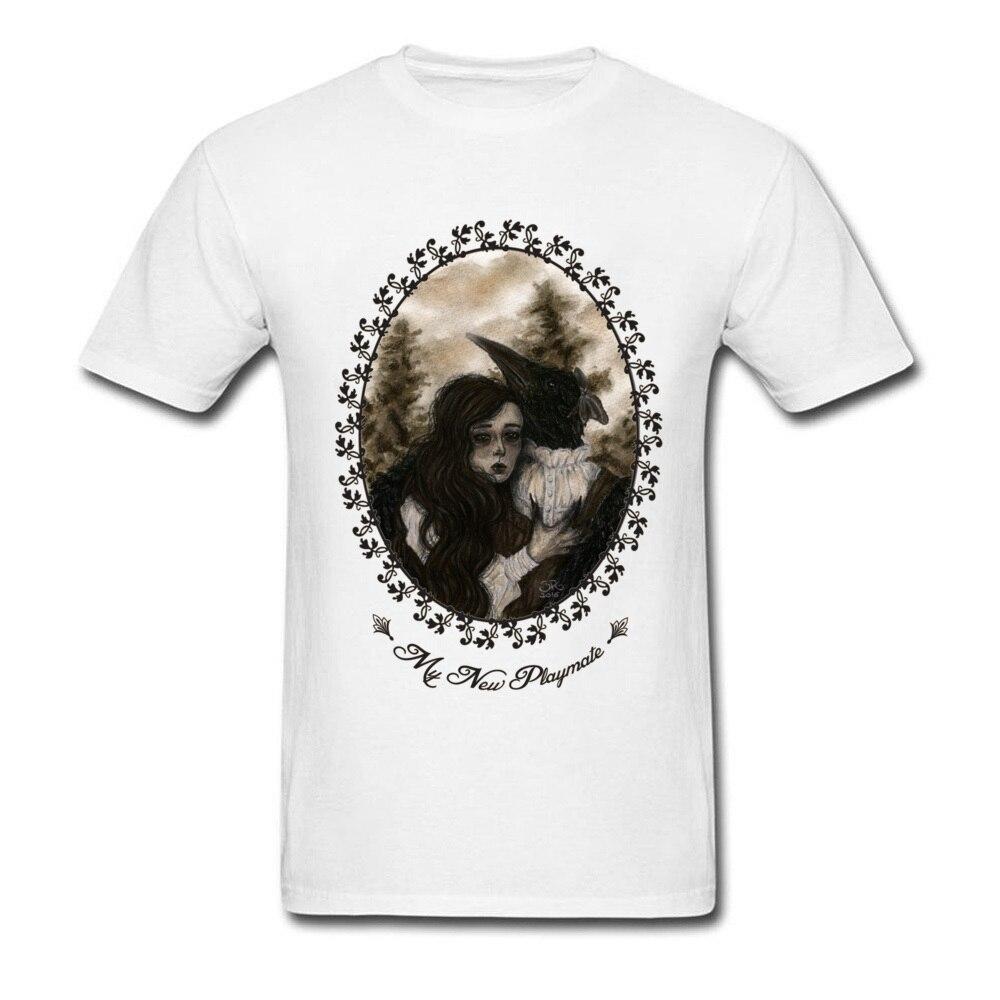 Horror Movie Tshirt Mens Geek Coupon Gift T-Shirt Custom Personalized Shirts Male Summer Fashion Brand Cotton Tops Sex