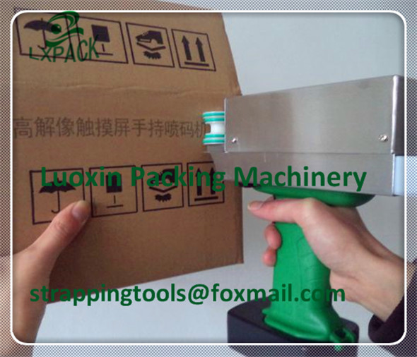 LX-PACK Lowest Factory Price HANDHELD INKJET PRINTER STAINLESS STEEL PIPE HAND CODING MACHINE PORTABLE INKJET PRINTER цена