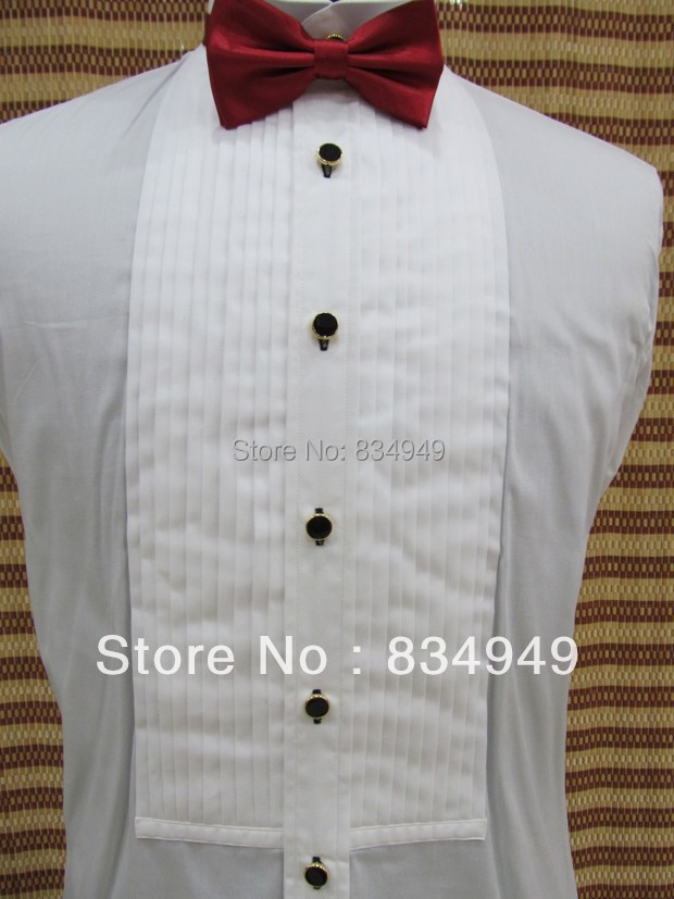 Buy custom made 100 cotton white tuxedo 100 cotton tuxedo shirt