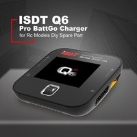 ISDT Q6 Pro Battgo 300W 14A Handheld Lipo Battery Balance Charger Intelligent Digital Charger For Rc Models Diy Spare Part