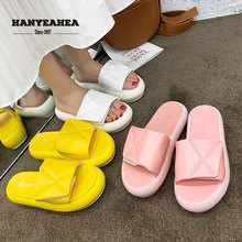 Muffin Bottom Womens Summer Shoes Fashion Velcro Slippers Casual Fashionable