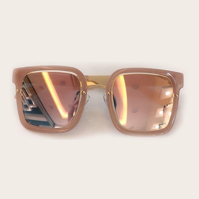 De Brillen Qualität no 4 no Rahmen Größe 3 Polarisierte Hohe No 1 Frauen Feminino Box 2019 Sonnenbrille 5 Mit no no Sol Oculos Große Metall 2 PCfqzww
