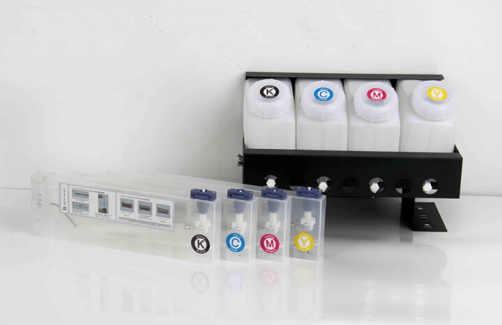 4 color CISS ink system for Roland Mimaki Mutoh large format printer bulk ink system 4tanks
