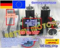 3 Axis CNC controller Kit 3x NEMA34 stepper motor 1230 oz in 8.5N.m 116mm 5A Dual shaft & Driver 6A 80V & 400W 60V power supply
