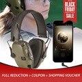 Elektronische Schießen Ohrenschützer Outdoor Sport Anti-lärm Auswirkungen Sound Verstärkung Taktische Hören Schutzhülle Headset Faltbare