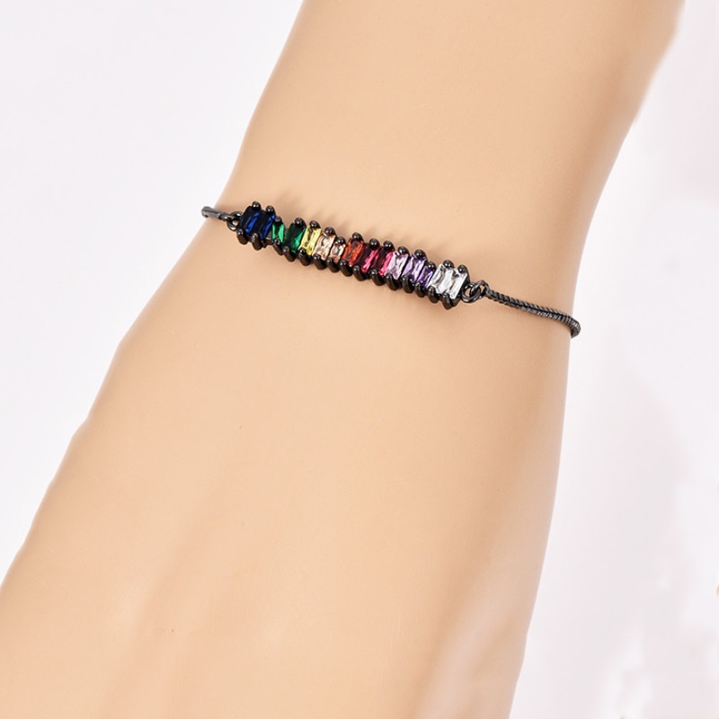 Модное ожерелье с подвеской для глаз для женщин, ожерелье с кристаллами, сексуальные персонализированные чокеры, короткая цепочка на ключицы, ювелирные изделия - Окраска металла: bracelet gun black