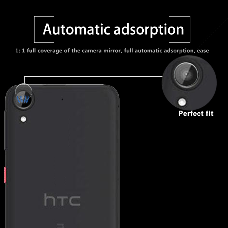Accessory Back Camera Lens Screen Protector For HTC Desire 630 5.0 Tempered Glass Full Cover Coverage Film Guard Sheild