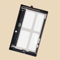 Black For Lenovo B8000 Yoga Tablet 10 60047 Full Touch Screen Digitizer Glass Sensor LCD Display