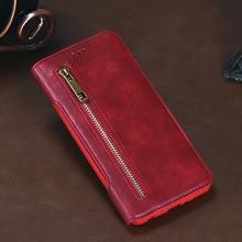 10 stks Leather Case voor Huawei P20 Lederen Flip Cover voor Huawei P20 Lite/NOVA 3E, p20 Pro/Plis met Card Slot Telefoon Auto Houder