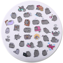 hot deal buy 40 pcs/lot trendy cute fat cat decoration adhesive stickers diy paper stickers diary sticker scrapbook stationery stickers