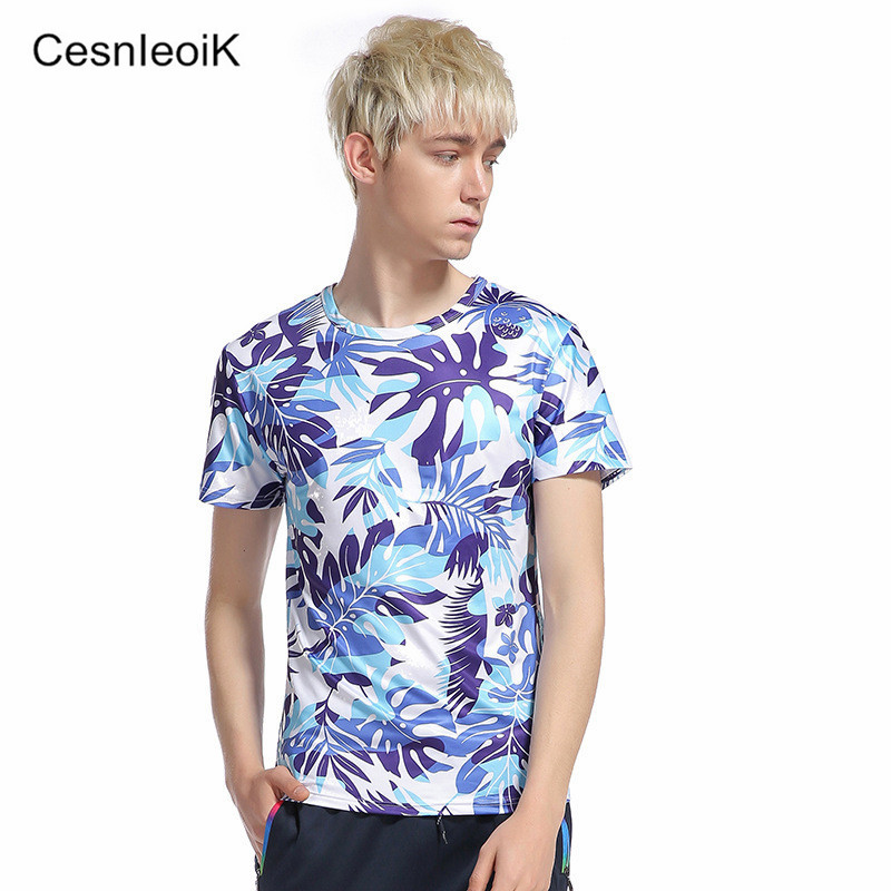 2017 New Fashion Mens Summer Brand Clothing T Shirt Men