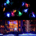 28 LED Colors Christmas Fairy Colorful LED String Lights Snowflake Lamp Holiday Lighting For Wedding Party Decoration Best Price
