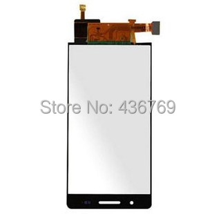 LCD Display Touch Screen Digitizer Assembly For Huawei Ascend P6 P6-C00 P6-T00 P6-U00 P6-U06 front Panel Glass Lens white black
