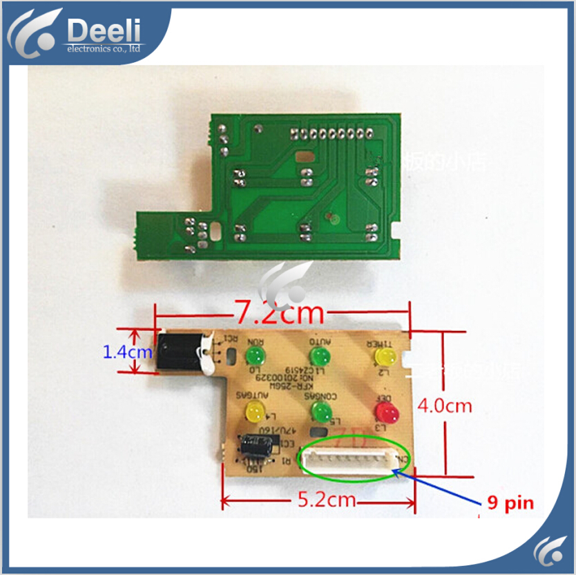 все цены на  95% new Original for Midea air conditioning Signal receiving board KFR-23GW/DY-I1Y KFR-35GW/DY-I1Y KFR-25GW/I1Y  онлайн