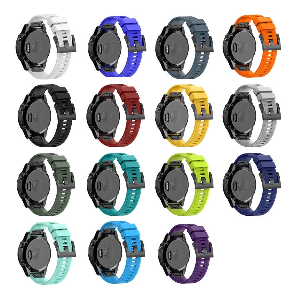 New Detachable Watch Strap Silicone Watchband For Garmin Fenix 5 Forerunner 935 Approach S60 GDeals garmin approach white s3 gps watch certified refurbished