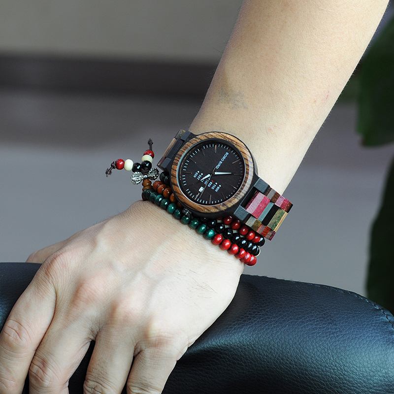 wooden watches for men bobo bird wrist watch (39)