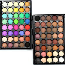 40 Colors Matte Naked Eyeshadow Pallete Professional Lasting Beauty Make Up Cosmetics Set Shades Sombras Eye Shadow Palette H20