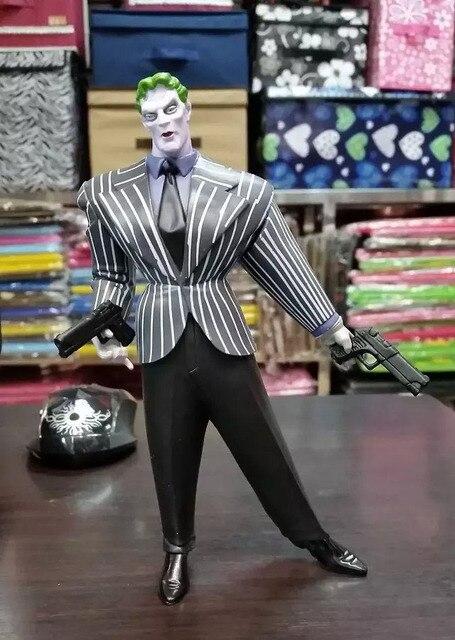 """DC Super-heróis Batman Gordura Joker Ação PVC Figuras Collectible Modelo Toy 7 """"18 cm KT227"""