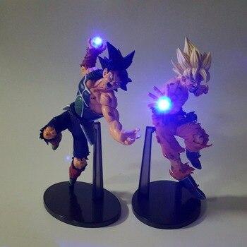 Dragon Ball Z Action Figures Son Goku łopianu Kamehameha światła Led 150mm anime Dragon Ball Super Saiyan DBZ