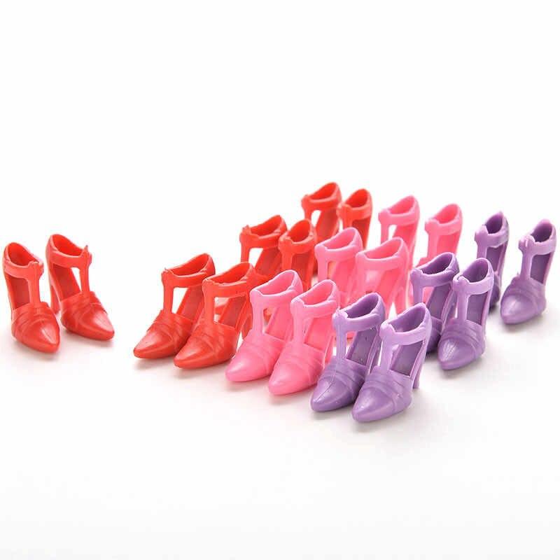 10/1 Đôi Giày Búp Bê Thời Trang Đa Màu Sắc Giày Búp Bê Barbie Phong Cách Khác Nhau Chất Lượng Cao Đồ Chơi Cho Bé