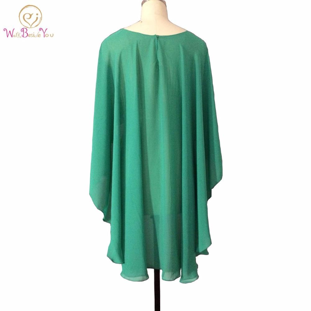 eae9a37d3790 Nice Wedding Wraps Evening Shawl Green White Red Chiffon Evening Casual  Wrap Jacket (More Colors) Plus Size Bolero Jacket. -2_ QQ20141021105818