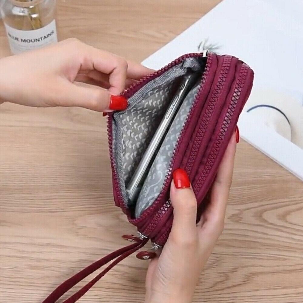 Женский кошелек, женский холщовый клатч, держатель для карт, Длинный кошелек, кошелек, высокое качество, вечерняя сумочка