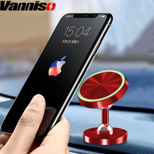 Vanniso Universal Magnetic Car Phone Holder Stand in For iPhone X Samsung s10 Magnet tablets Mount Mobile Support GPS