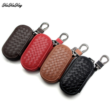 цена на Car Keychain Keyring Emblems Hand Woven Key Bags Covers Case For Volkswagen VW Polo Golf Passat Touareg Tiguan Beetle Bora Jetta