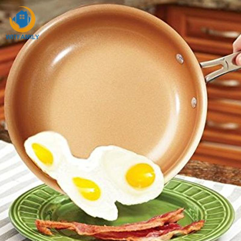 9.5 Inch Non-stick Titanium Frying Pan With  Oven Pans Induction Cooker Ceramic Coating