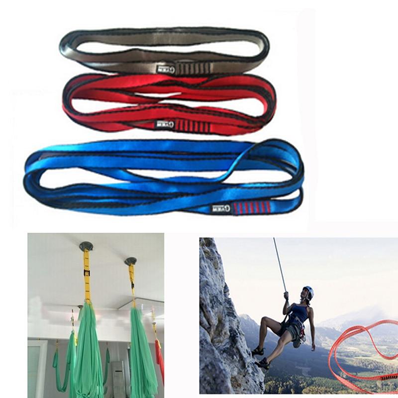 Hot Sale Multifunctional Portable Yoga Safety Belt Outdoor Sports Camping Hunting Climbing Aloft Work Lifeline Emergency Tools