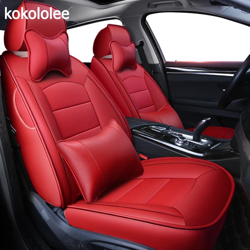 Kokololee personnalisées en cuir véritable housse de siège de voiture pour lexus es 200 250 300 350 330 est-c is200 is300 automobiles Housses de Siège de voiture sièges
