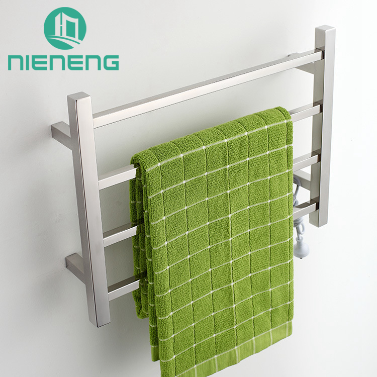 Nieneng Towel Warmer Chrome Bathroom Heating Vertical Electric Towel ...