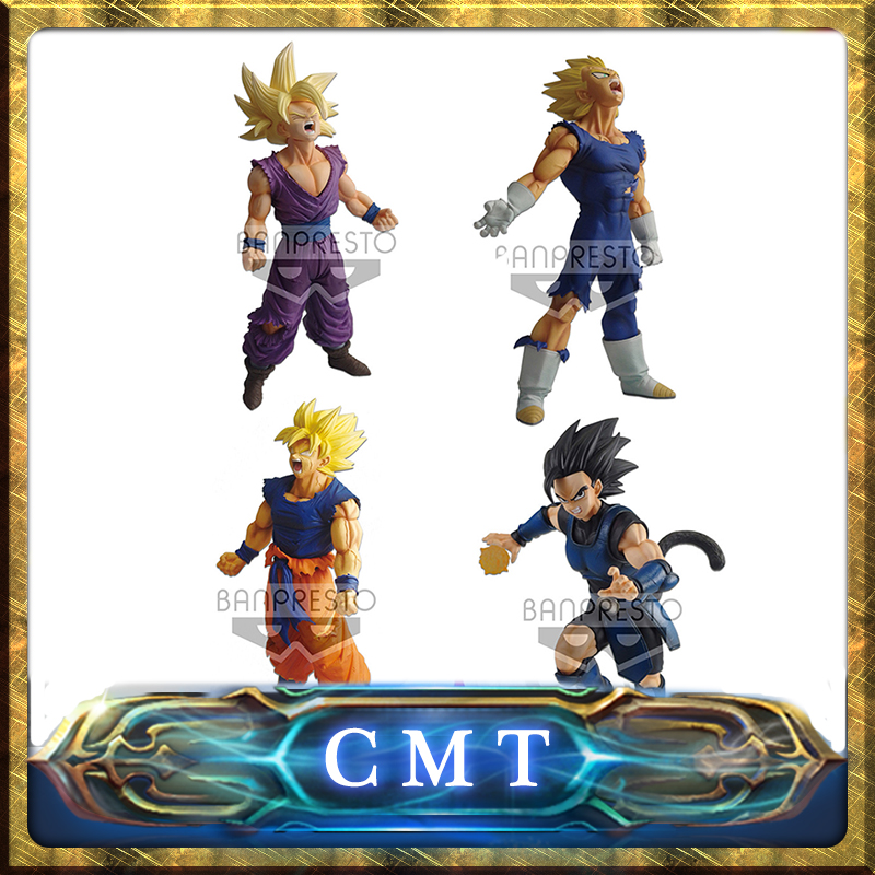 CMT Origianl Banpresto Ichiban Kuji Dragon ball Battle Of World With Dragon Ball Legends Charlotte Son Goku Vegeta Son Gofan Toy цены онлайн