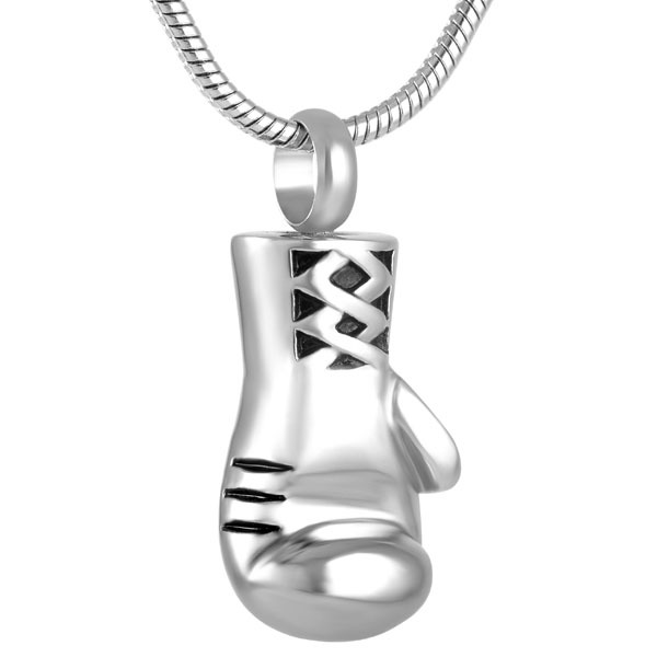 Boxing Glove Shaped Memorial Pendant