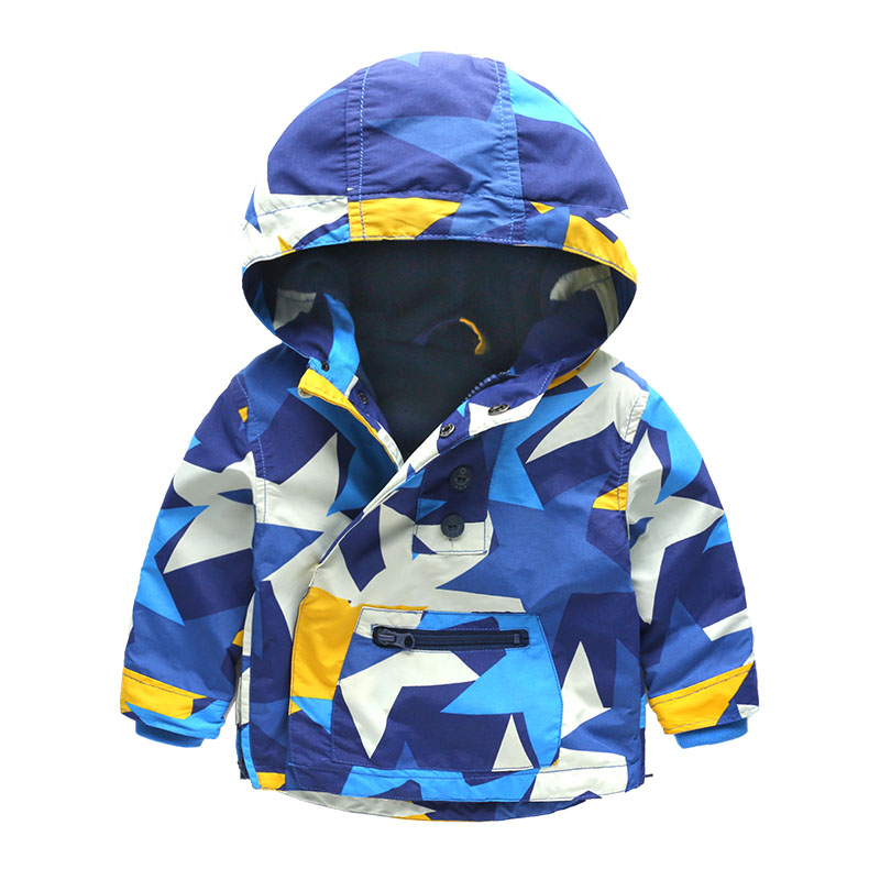 Kids Toddler Boys Jacket Coat Hooded Jackets For Children Outerwear Clothing Minnie Spring Baby Boy Clothes