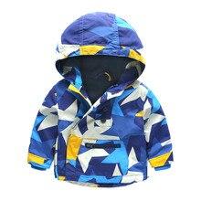 Дети Малышей Мальчики Куртка Пальто С Капюшоном Куртки Для Детей Верхняя Одежда Минни Весна Baby Boy Одежда Ветровка Blazer 4