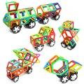 Mylitdear trcuk enlighten tren regular tamaño de construcción magnética bloques de construcción ladrillos juguetes educativos para niños