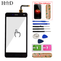 Mobile Touch Screen For ZTE Blade L3 V1.0 V1.1 Version Front Touch Glass Screen Digitizer Panel Sensor Adhesive Screen Protector Mobile Phone Touch Panel     -