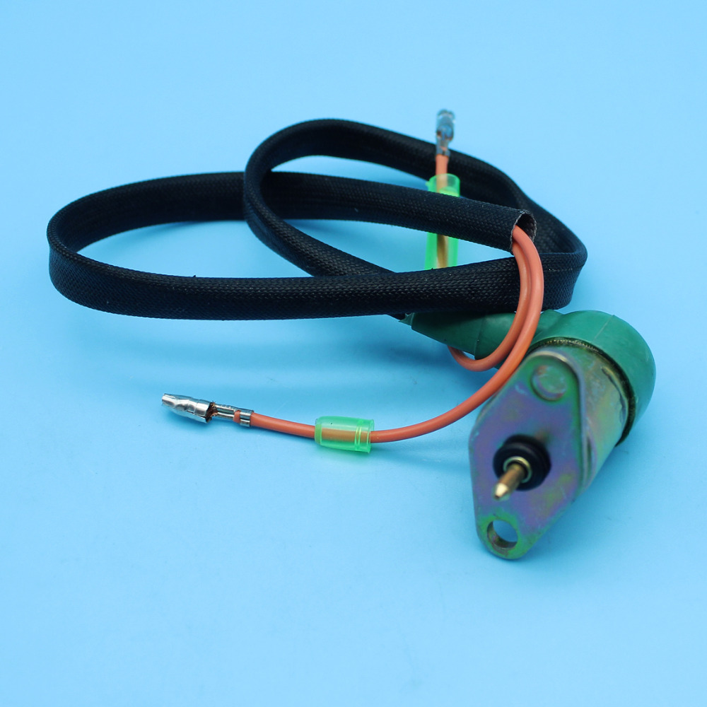 medium resolution of carburetor solenoid wire assy for honda gx340 gx390 11hp 13hp chinese 188f generator engine motor e 5000 e 6500 in chainsaws from tools on aliexpress com