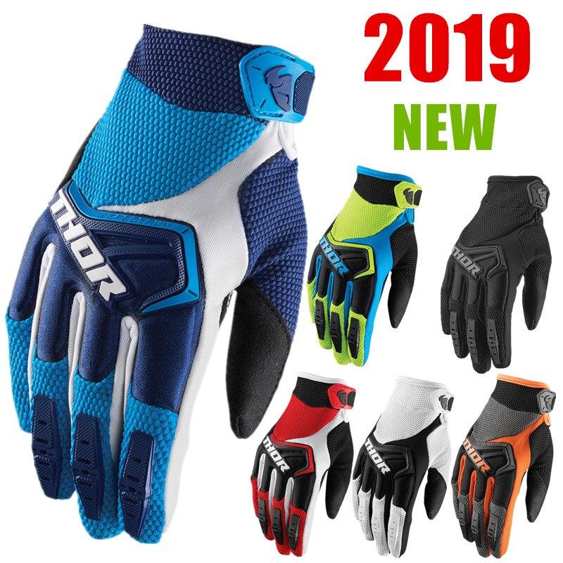 2019 Motocross Handschuhe 6 Farben Mtb Handschuhe BMX ATV MTB Off Road Motorrad handschuhe Mountainbike Handschuhe