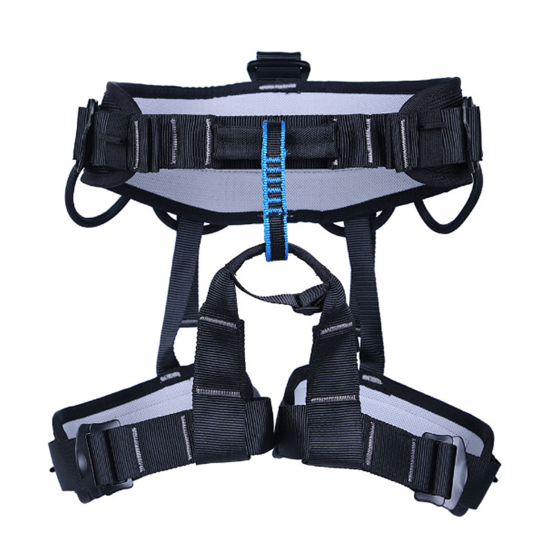P118 climbing high altitude comfortable half - belt Leggings safety belt CE certification